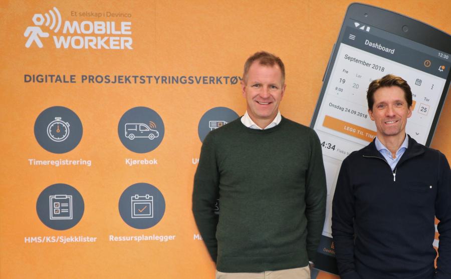 Mobile Worker og Stig M. Bredvei og Ole Tom Kolstad