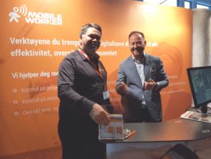 Geir Johansen og Arne Markussen Sales manager, Bygg Reis Deg AS