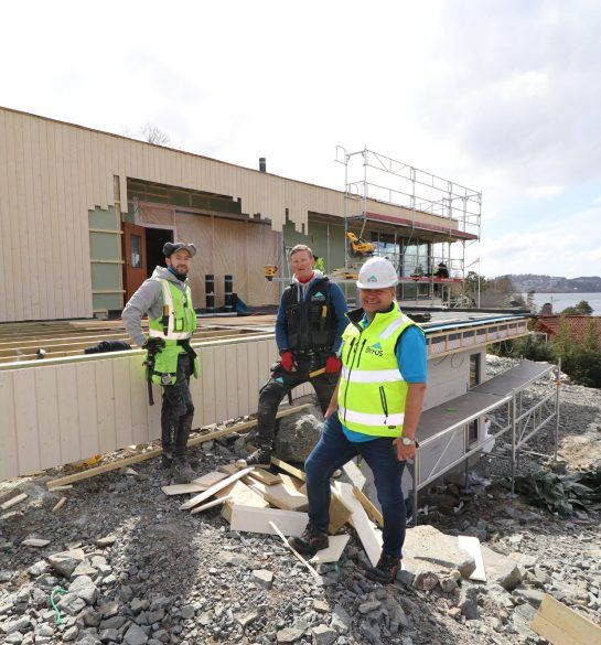 Mobile Worker Byhus bygg anlegg timeregistrering