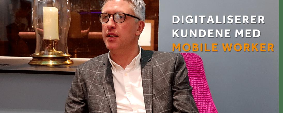 Regnskaps Companiet digitaliserer kundene sine med Mobile Worker