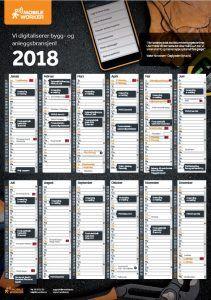 regnskapskalender 2018 regnskapsdatoer 2018