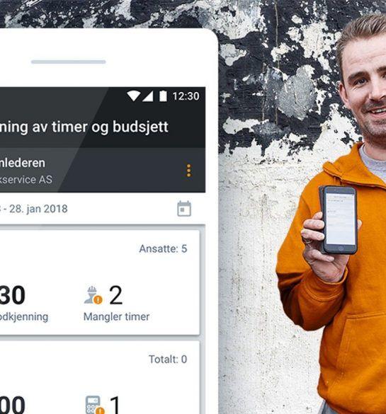godkjenning timer og budsjett mobile worker