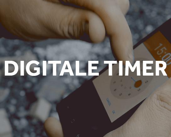 Digitale timer timeføring timeregistrering
